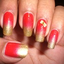 Red and Gold Gradient