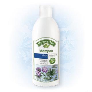 Nature's Gate Biotin Strengthening Shampoo