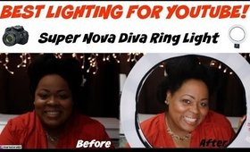 SUPERNOVA DIVA RING LIGHT REVIEW | Dearnatural62 Tech Time