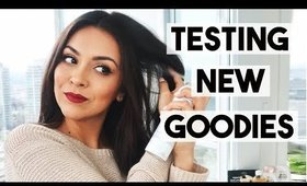 TESTING NEW DRUGSTORE PRODUCTS! - TrinaDuhra