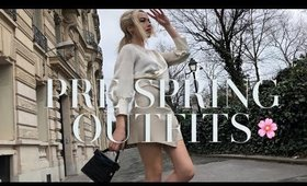END OF WINTER OUTFIT IDEAS | WINTER TO SPRING OUTFITS 2020