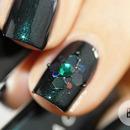 Nail Art Emerald
