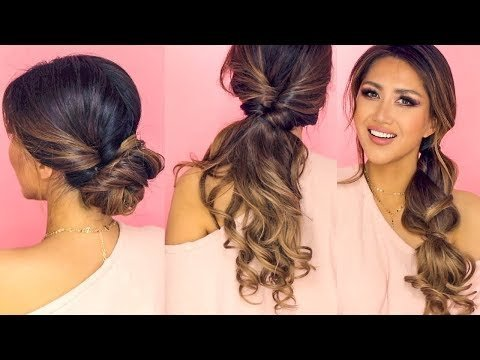 ☆ ❌ 1-MIN LAZY HAIRSTYLES for WORK!   EASY EVERYDAY UPDOS ...