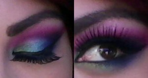 used Urban Decay and Makeup forever
