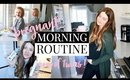 PREGNANT MORNING ROUTINE 2019: MOM OF 2! | Kendra Atkins