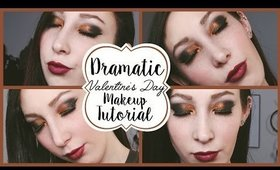 Dramatic Sexy and Romantic Valentines Day Makeup Tutorial  | JordynxAriel
