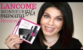 Best New High End Mascara?! | Lancome Monsieur Big Mascara | @girlythingsby_e