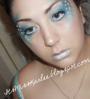 A look I created for my blog's seven deadly sins makeup series.