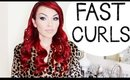 Fast Curls Hairstyle & How To Turn Your Curling Iron Into A Curling Wand