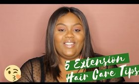 5 Extension Hair Care Tips