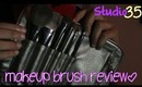 Studio 35 Makeup Brush REVIEW! & How To USE!♥