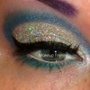 Winter Glitter Cut Crease