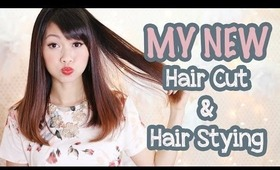 ✄ My Shorter Hair Cut & Hair Styling
