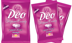 Worried About Your Body Odor? Try This Deodorant Candy