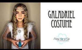 GALADRIEL HALLOWEEN HAIR, MAKEUP, COSTUME!