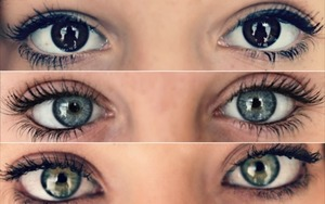 I found this on tumblr the other day and fell in love- my eyes look like that's ones at the top 😔 I wish I had green eyes... If only, if only...