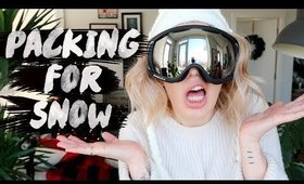 ❄ ULTIMATE PACKING GUIDE FOR A SKI/ SNOW TRIP ⛄  | Karismas DAY 23