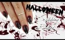 Edgy Dripping Blood Nails | Halloween ♡