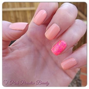 Barry m peach Melba, China Glaze Flip Flop Fantasy and Nubar Watermelon Crush