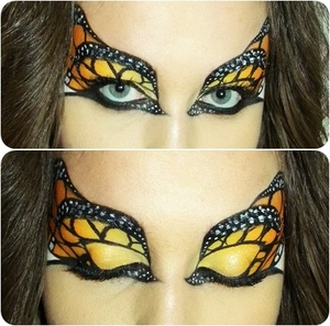 Monarch Butterfly inspired by Dana Lajeunesse ! http://www.youtube.com/watch?v=_kdN6l-MxZw