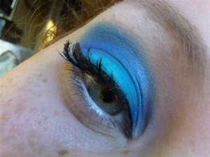 Ocean mist, using new products. Oooh so excited to present this look to you guys!! http://themakeupbloggers.blogspot.com/2013/01/ocean-mist.html
