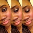 Smokeyeye and Nude Lips