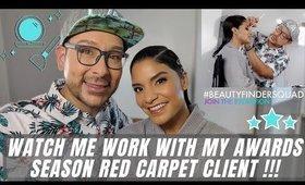 Watch me work on my Red Carpet Celebrity Awards Season Client | mathias4makeup