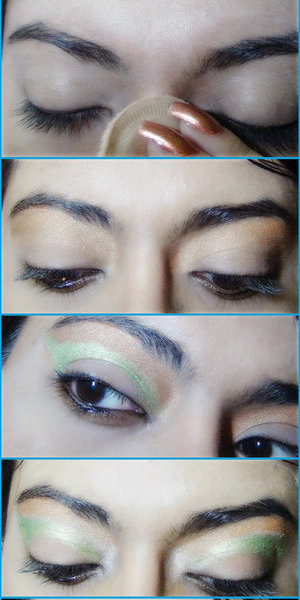 This is a gorgeous eye makeup style which will simply take your breath away. The peacock eye makeup look is not really something which is an everyday's choice but for a girl's party or a disco or even for a special occasion; this can be extremely beautiful and stunning. Read More:http://www.stylecraze.com/articles/peacock-eye-makeup-tutorial/