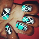 Argyle Print--Nails this week