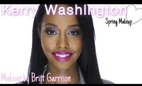 Kerry Washington Spring Makeup Tutorial