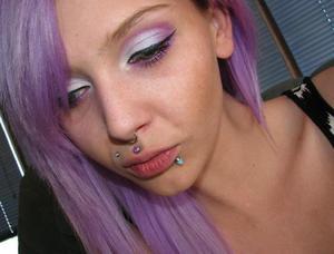 All Virus Insanity eyeshadows from www.virusinsanity.com  From inner to outer corner: Void, Be Mine, Rose  Bottom eyeliner: Rose