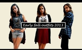 Early fall outfits 2013