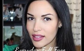 Makeup Tutorial: Everyday Quick Full Face