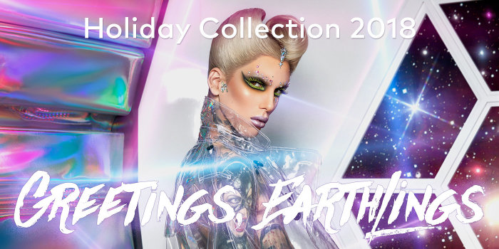 Jeffree Star Cosmetics' Alien Holiday Collection is here – shop now.