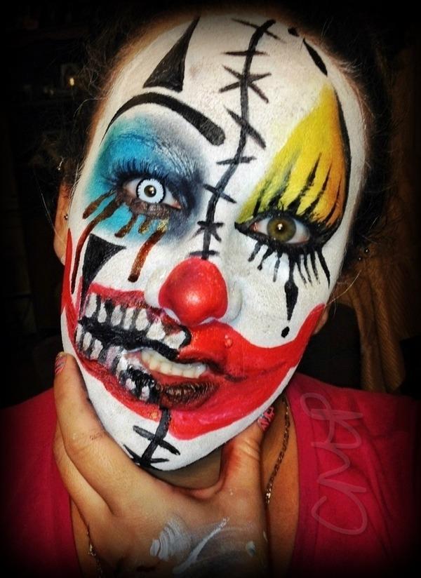 Bad Clown Good Clown Christina P S Xostina924 Photo