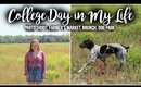 College Days In My Life: Brunch, Farmer's Market, Photoshoot, & Dog Park at Georgia Southern