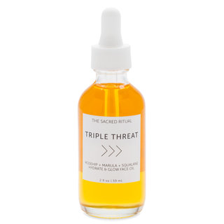 The Sacred Ritual Triple Threat Hydrate & Glow Face Oil