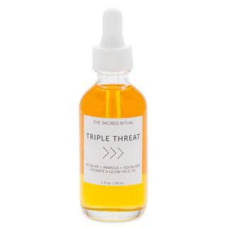 Triple Threat Hydrate & Glow Face Oil