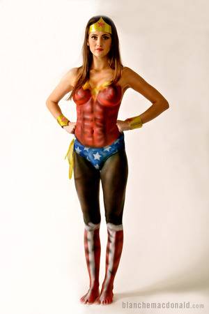 Body Makeup by Blanche Macdonald Global Makeup student Luisa Fernanda Dominguez Rangel.