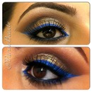 Browns with Blue Liner