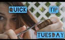 Quick Tip Tuesday: How To Trim Your Hair At Home (Hair Mending)