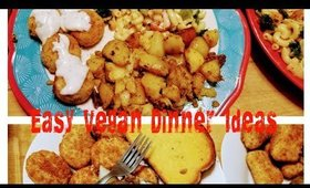 Vegan Family Meals | come cook with me