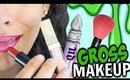 10 Gross Makeup Things Everyone Deals With!