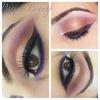 Peach and Purple
