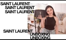 Saint Laurent ✨Lou Camera Bag Unboxing + Paris Store Experience