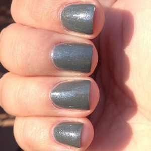 I love this polish. It's my new favorite grey. :) Lots of blue and pink shimmer will make this your new fave too. See more at: Http://polishmeplease.wordpress.com