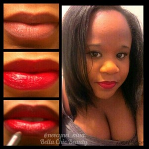 The perfect lips for Valentine's Day or Date Night. Pic Tutorial!