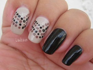 Bettina - Clair China Glaze - Liquid Leather Wet n Wild - Wet Cement Hard Candy - Cocoa Smore
