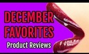 December Favorites - Beauty Product Reviews: Mascara, Lip Gloss, Lip Balm, & False Eyelashes