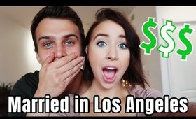 WHAT WE SPEND IN A WEEK: Married in Los Angeles + Money Saving Tips!
